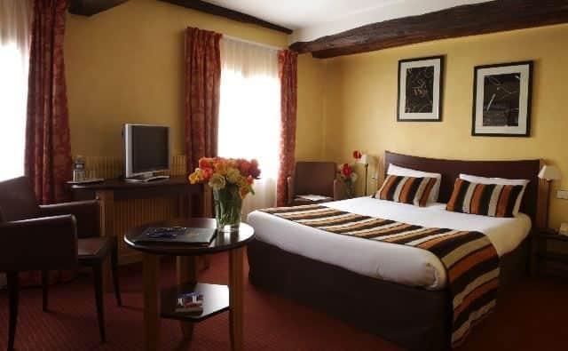 Hotelværelse i centrum af Paris