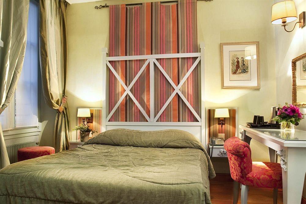 paris hotelværelse