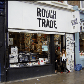 pladebutik i London