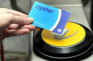 oyster card offentlig transport london