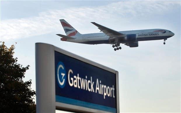 gatwick lufthavn
