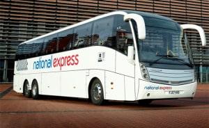 Bus der kører fra Gatwick til London