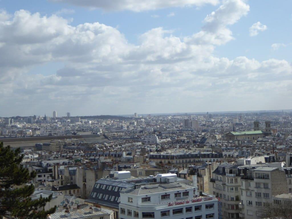 Montmartre Paris udsigt
