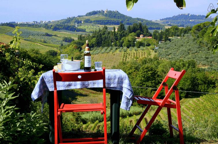 Toscana tæt på Firenze