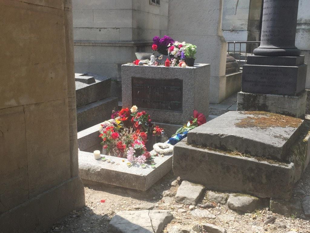 Morrisons grav i Paris