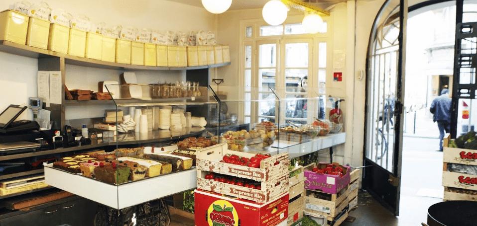 Rose Bakery i Paris Pigalle