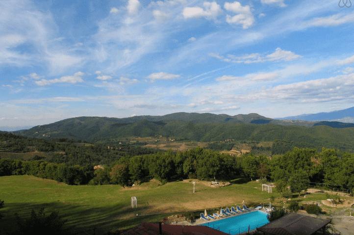 Pool i Toscana