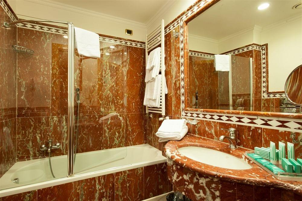 overnatning i milano badeværelse