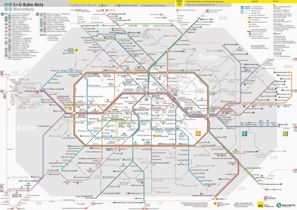 Berlin offentlig transport