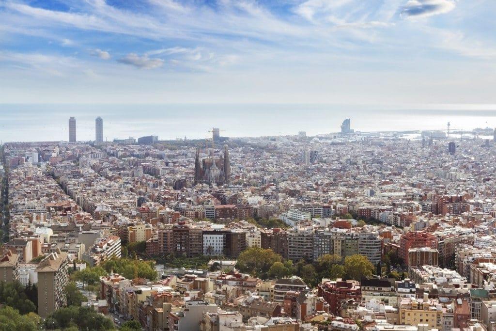 Barcelona udsigt