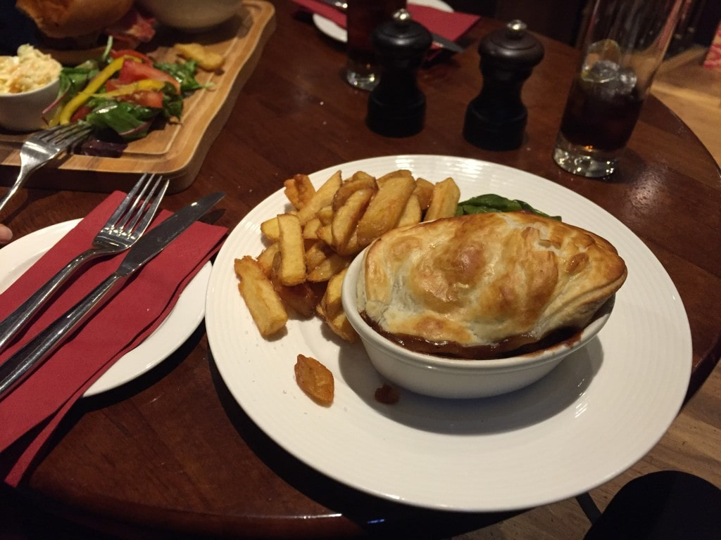 Pie fra Pub i Edinburgh
