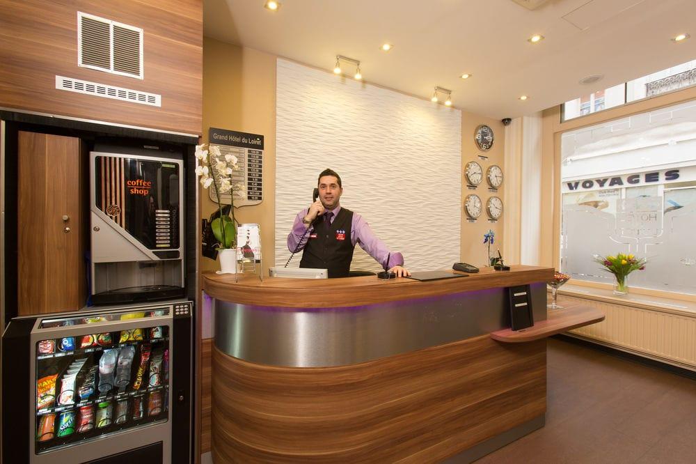 hotellets reception