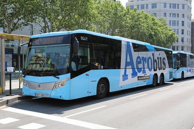 bus fra barcelona lufthavn