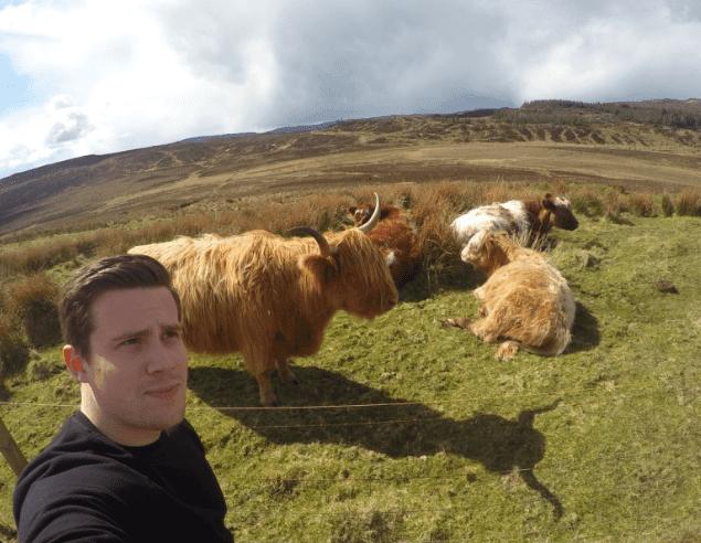 Isle of Skye selfie