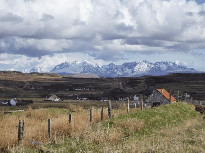 Isle of Skye bjerge