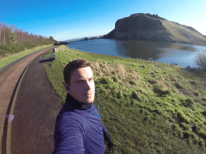 Løbetur i Edinburgh