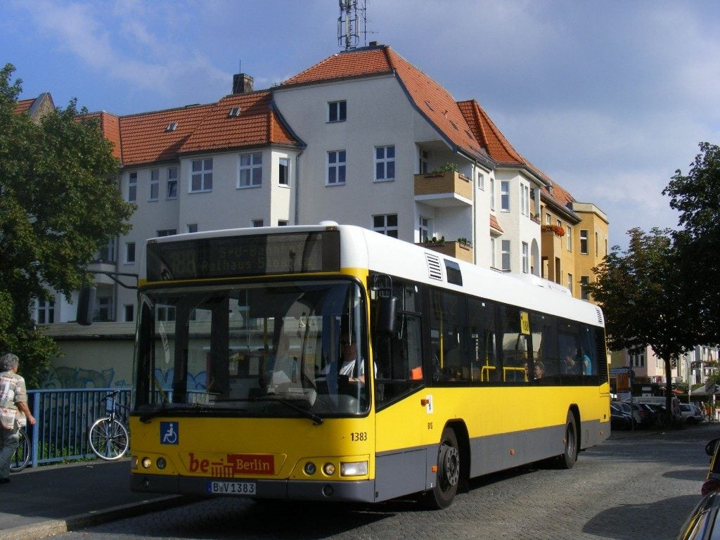 bus fra schönefeld til berlin