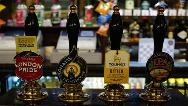 london pub tur