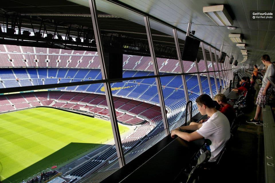 barcelona stadion rundtur camp nou