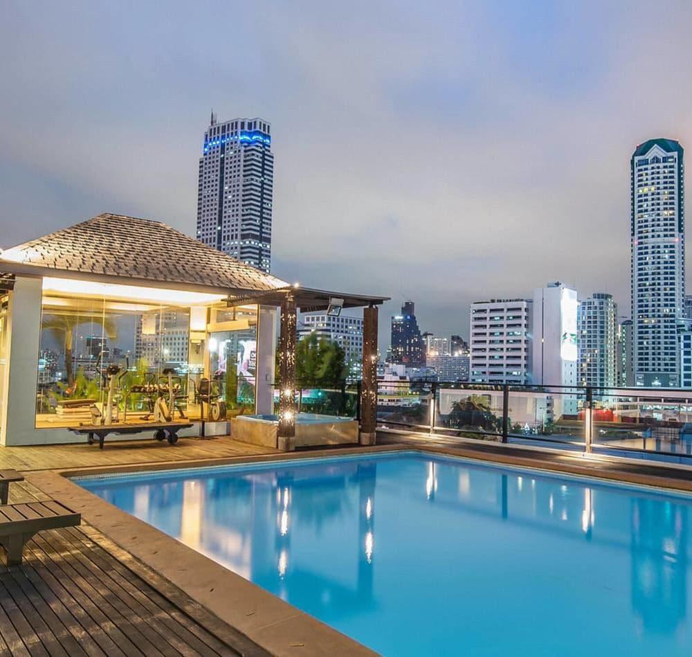 grand sathorn pool bangkok