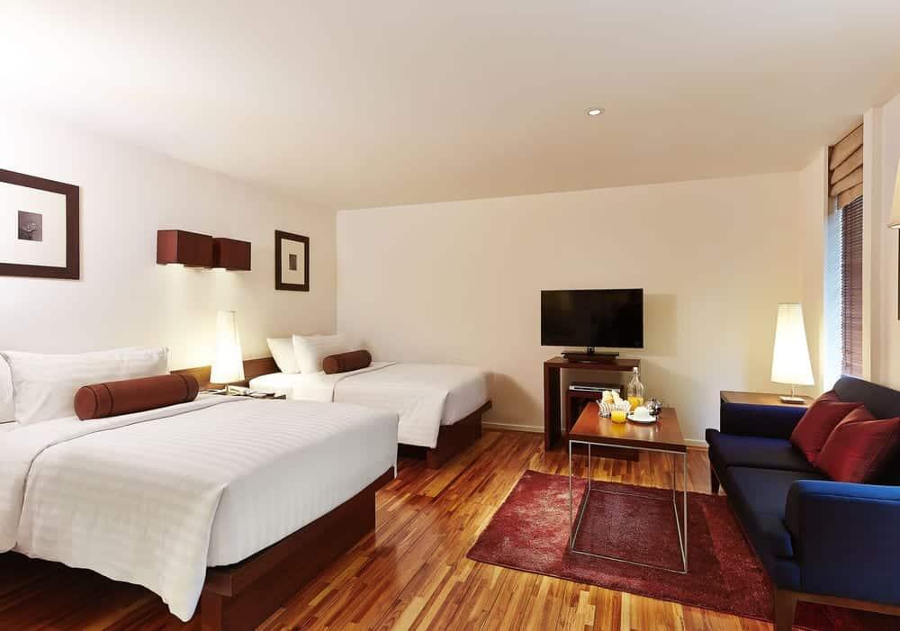 værelse billigt hotel bangkok