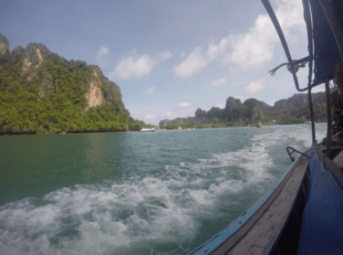 railay longtail boat