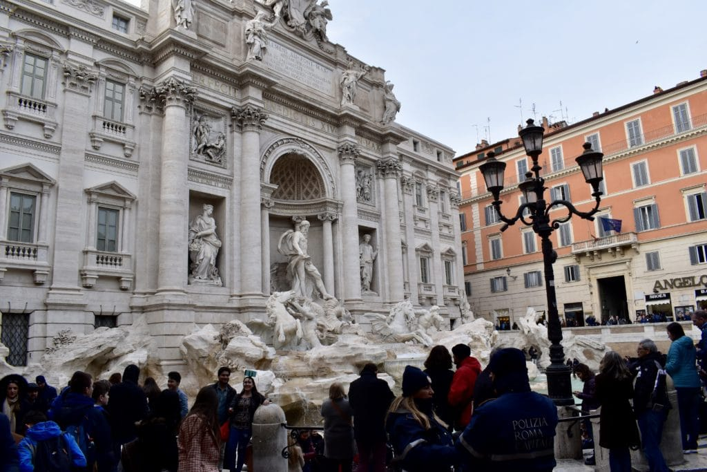Trevi fontaenen rom
