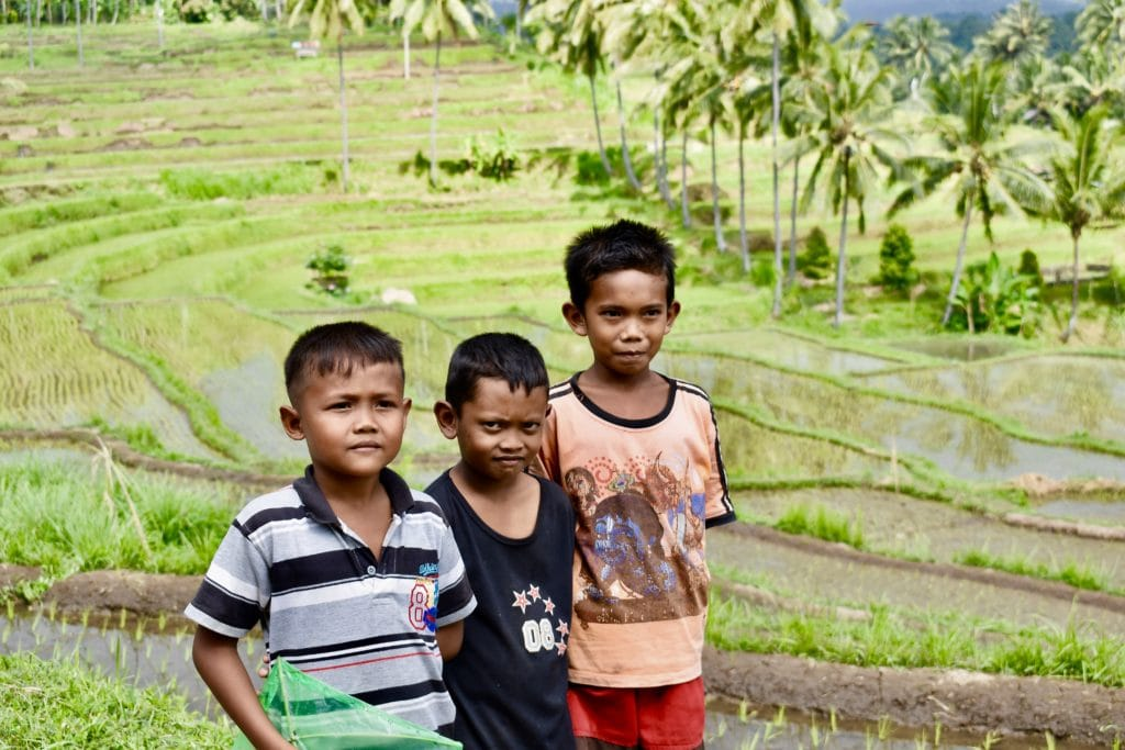 Bali børn