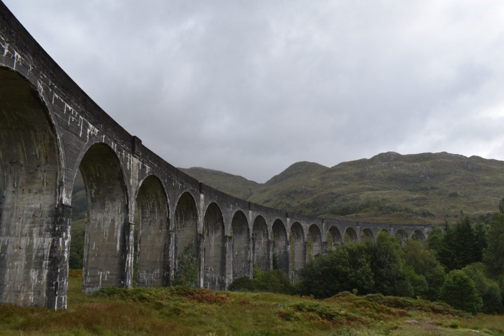 Glenfinnan Viadukten Harry Potter bro