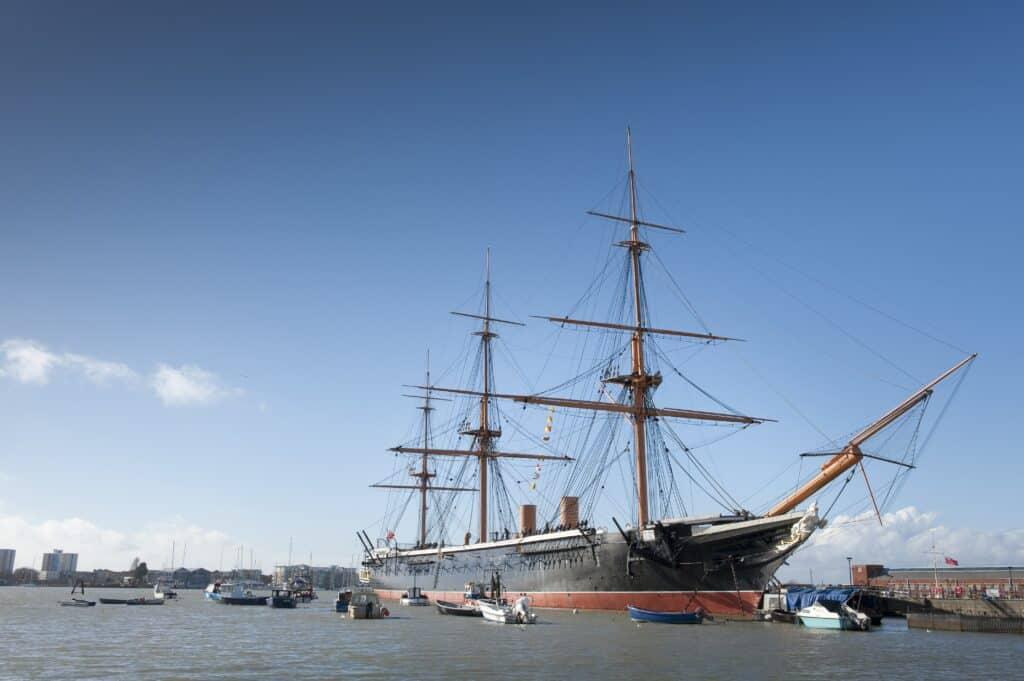 HMS Warrior 1860 Portsmouth