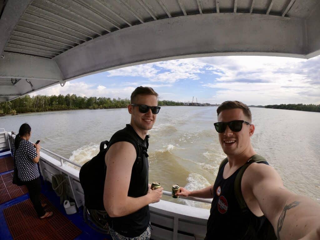 Færge i Thailand