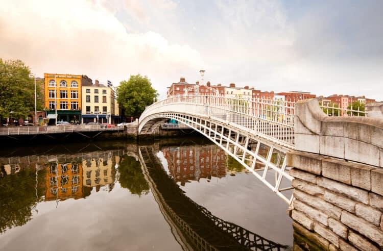 Hapenny Bridge, Dublin Ireland