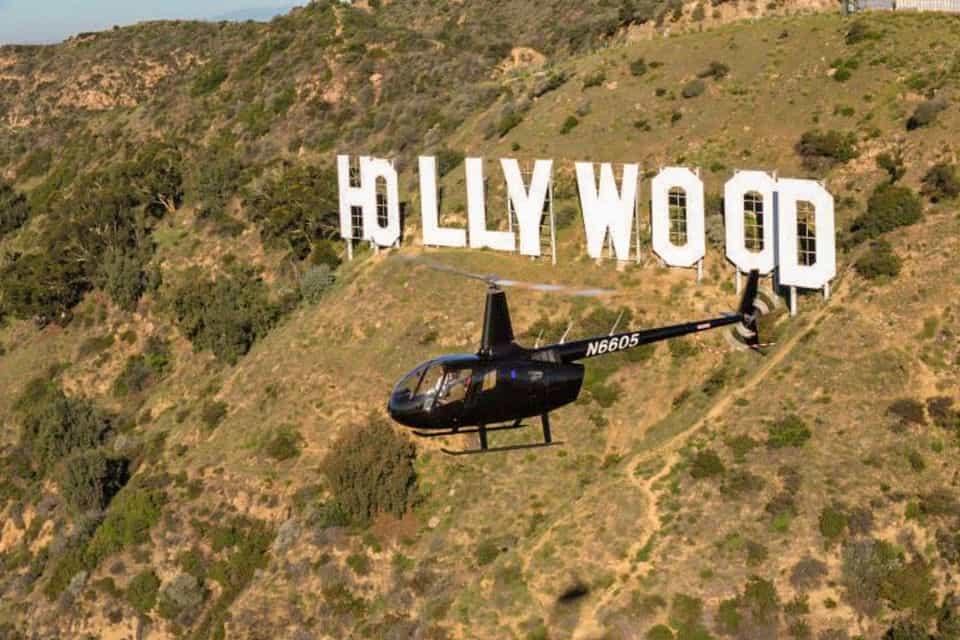 los angeles helikoptertur