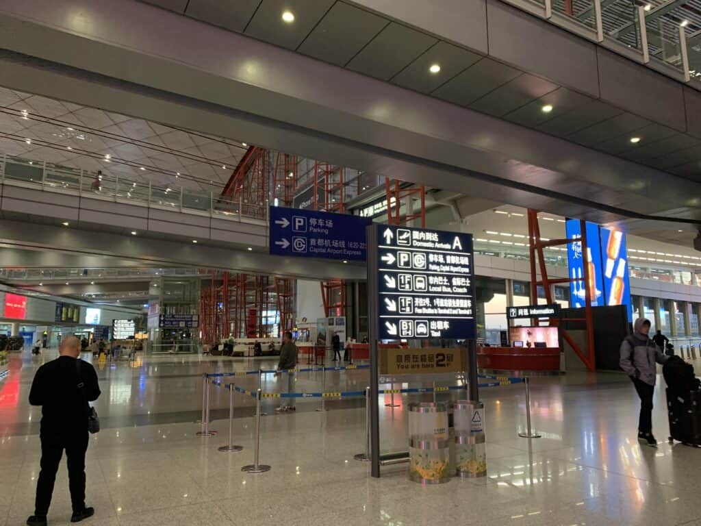 Beijing lufthavn