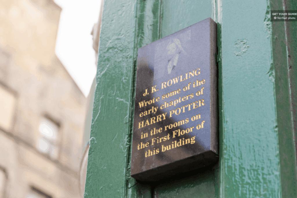 harry potter seværdighed edinburgh