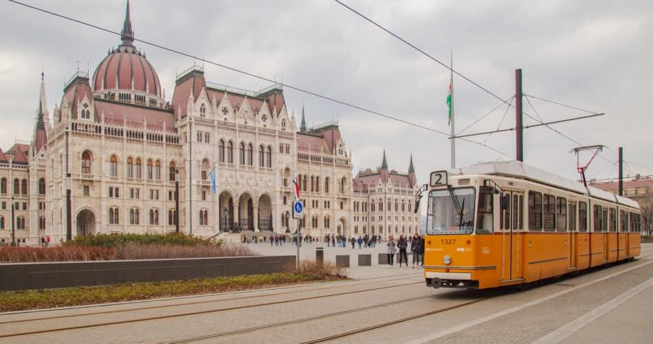 budapest offentlig transport