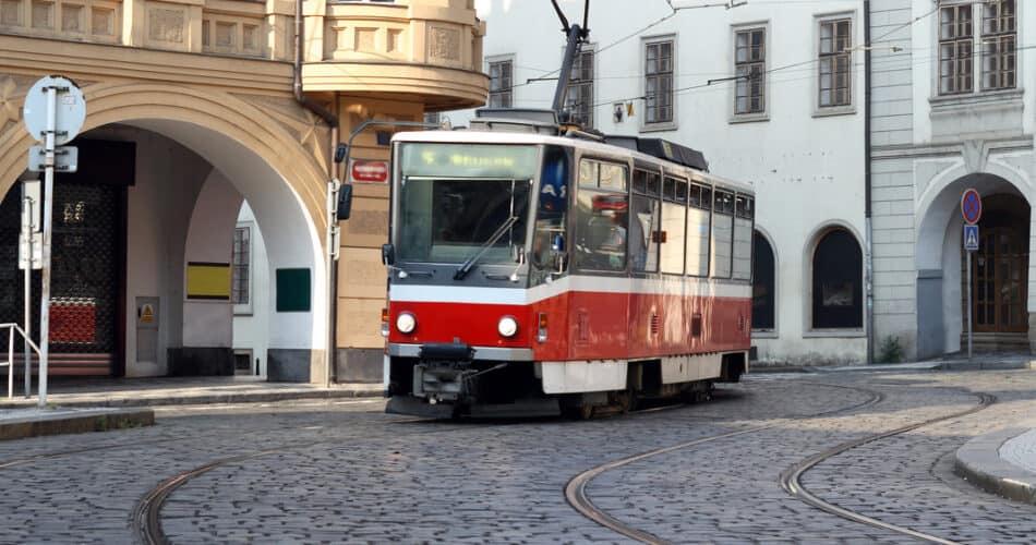 prag offentlig transport